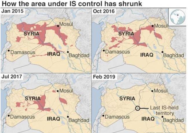 ISIS退無可退? 挾數千人質躲最後領土   華視新聞