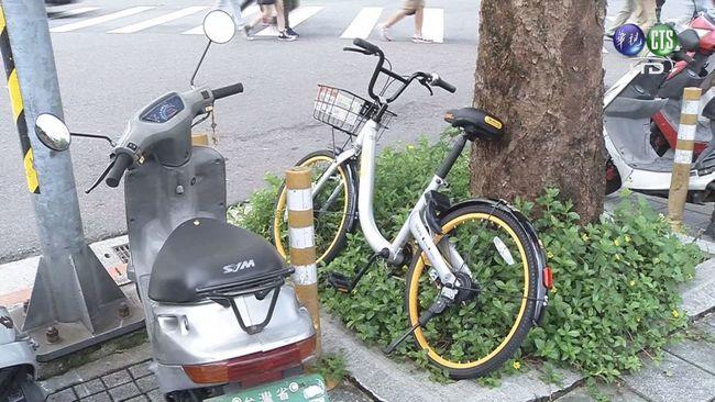 盛況不再! oBike停車亂象變「街頭垃圾」   華視新聞