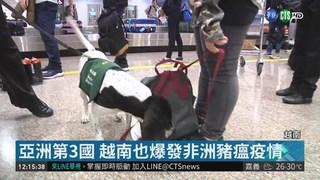 越南爆豬瘟 豬製品入境台灣罰20萬