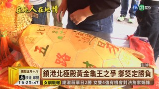 【台語新聞】澎湖黃金龜王市價千萬 2人擲筊迎回