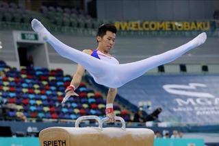「鞍馬王子」李智凱奪金!體操世界盃擊敗中國強敵翁浩