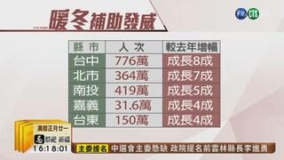【台語新聞】暖冬補助.春節加溫 百億觀光效益