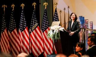 朱立倫批蔡挑起戰爭 府反擊:台灣不是和平威脅