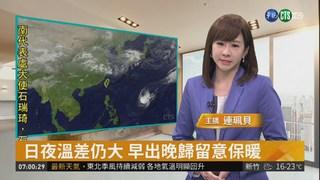 東北季風減弱 今全台高溫多雲