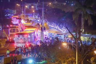 台灣燈會再創紀錄 169萬人0點前疏運完畢