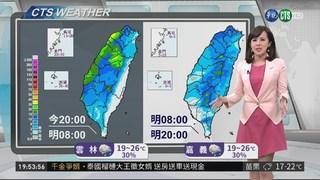 週三冷氣團報到  北部低溫探12度