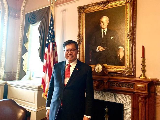 鄭文燦訪白宮 外交部:有助台美政策交流 | 華視新聞