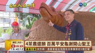 【台語新聞】鹿谷開山王聖誕 22888台斤神龜吃平安
