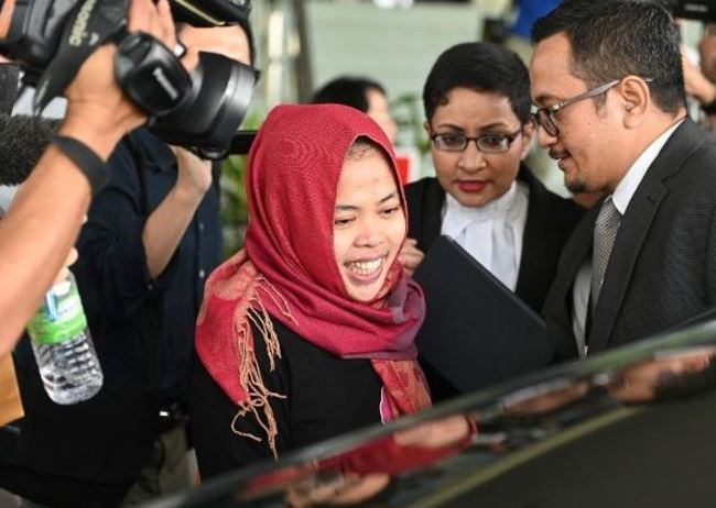 金正男案印尼女 大馬撤控當庭獲釋 | 華視新聞