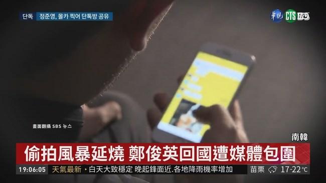 鄭俊英涉偷拍 傳TWICE可能受害? | 華視新聞