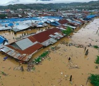 印尼遭洪水侵襲 釀63死.150房淹水