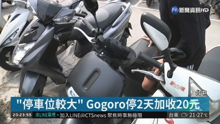 "Gogoro停車竟要""加價"" 車主傻眼"