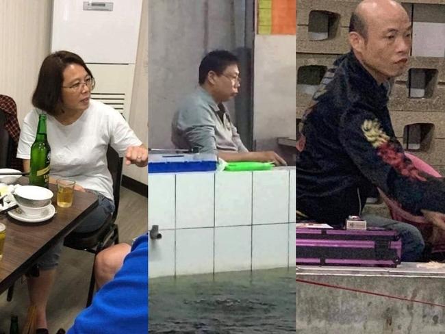 驚見蔡柯韓3人釣蝦? 網友笑翻:誰釣得多誰當選 | 華視新聞