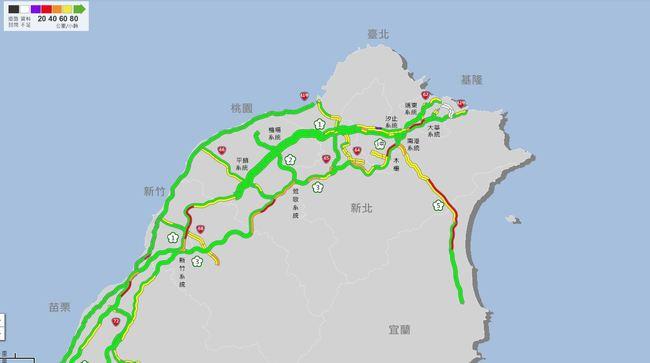 國道5號湧現車潮 高公局估:恐塞到晚上 | 華視新聞