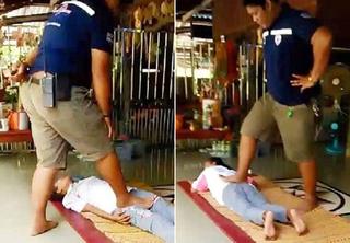 恐怖泰式按摩!「快樂醫生」踩斷腿 她成終身殘廢