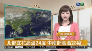 東北季風減弱 氣溫稍回升降雨減少