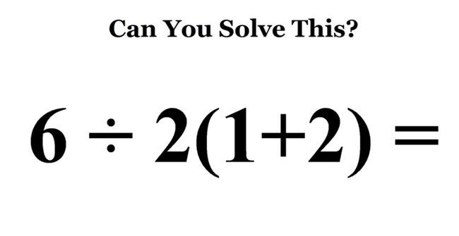 小學題「6÷2(1+2)=?」 百萬網友全答錯 | 華視新聞