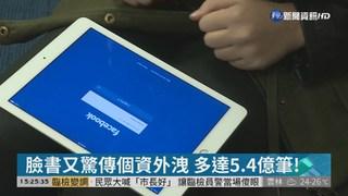 臉書又驚傳個資外洩 多達5.4億筆!