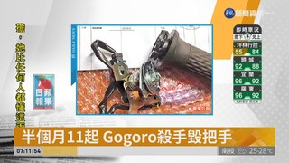 半個月11起 Gogoro殺手毀把手