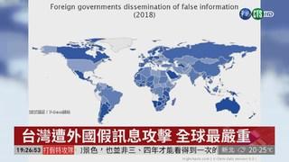 瑞典調查 台灣受假訊息危害世界第1