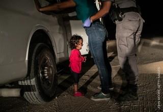 邊境移民悲歌 這張照片獲世界新聞攝影獎
