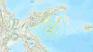 快訊》印尼蘇拉威西島6.8強震 當局發海嘯警報