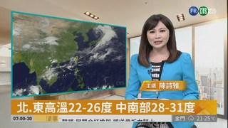 東北季風影響 北台灣清晨19度