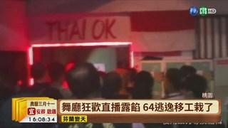 【台語新聞】舞廳狂歡直播露餡 64逃逸移工栽了