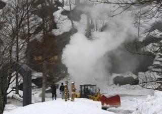 北海道石炭博物館傳火警 燒逾10小時仍未控制