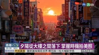 懸日降臨台北街頭 捕捉美景全攻略