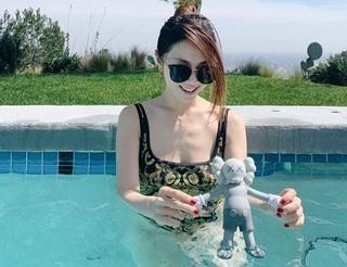 鄧紫棋大解放 「深U」泳裝超辣放送