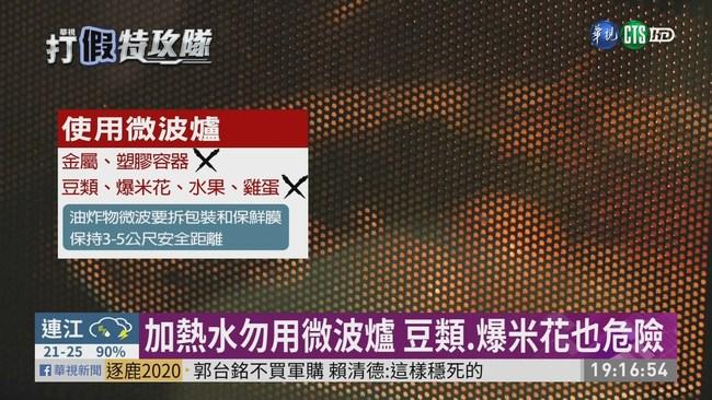 微波爐加熱水? 網路流傳會大噴發! | 華視新聞