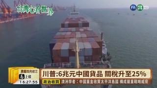 【台語新聞】美喊對中國加稅 專家:兩國國庫獲益