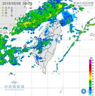 東北風減弱雨勢緩 2熱帶性低氣壓生成