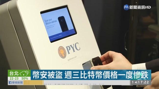 幣安7千枚比特幣遭駭走 損失12.6億 | 華視新聞