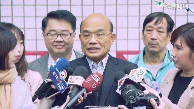 郭台銘一中各表論述 蘇揆:碰到中國要繼續講 | 華視新聞