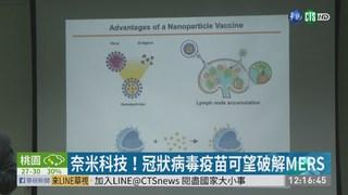 MERS有解! 中研院研發出奈米疫苗