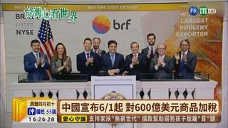 【台語新聞】中國提高關稅報復 美股狂瀉617點