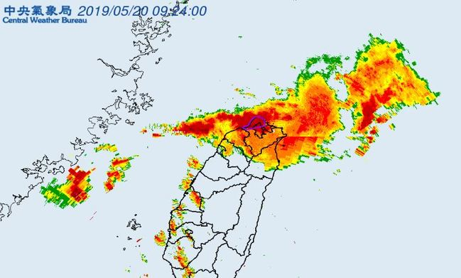 雨彈兇猛狂炸北台灣! 雙北嚴防大雷雨 | 華視新聞