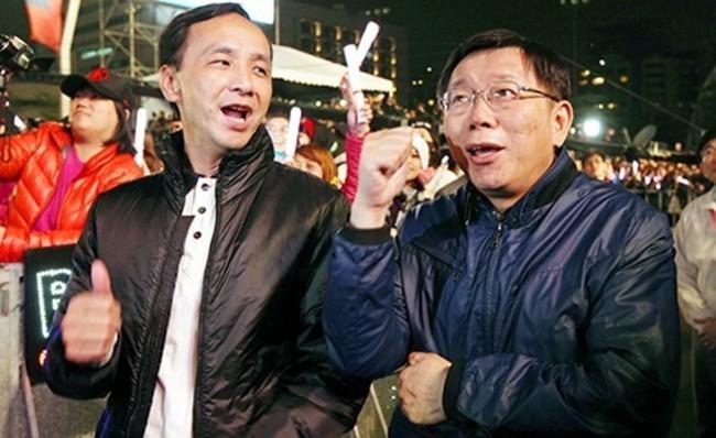 國民黨民調下滑 朱立倫憂柯文哲搶票 | 華視新聞