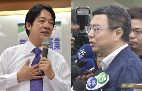 初選時程無進度...賴清德:對比民調蔡若贏韓就支持