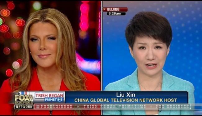 劉欣、雷根激辯變「專訪」 談敏感話題央視幾乎全卡 | 華視新聞