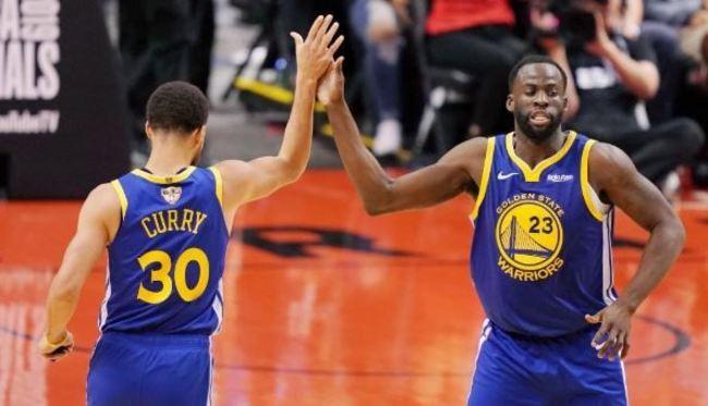 NBA總冠軍第2戰 勇士5分險勝暴龍 | 華視新聞