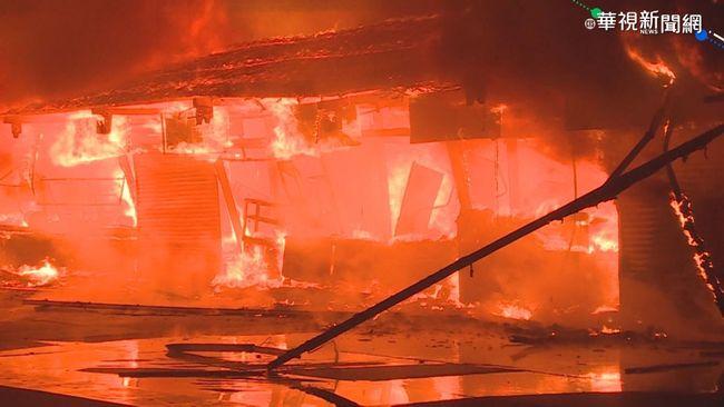 東大門夜市火警 消防局:排除人為縱火 | 華視新聞