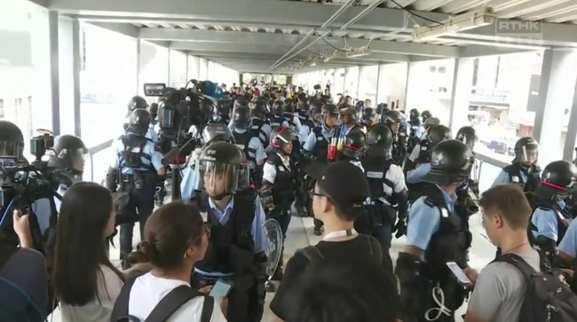 反送中》群眾再度聚集!港立法會:今日會議取消 | 華視新聞