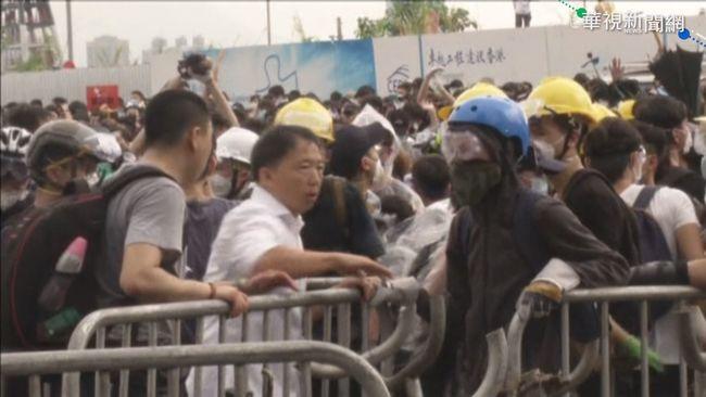 反送中》港立法會外爆流血衝突 陸委會籲避免前往 | 華視新聞