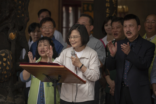 台灣首季GDP成長 蔡英文:亞洲四小龍第一 | 華視新聞