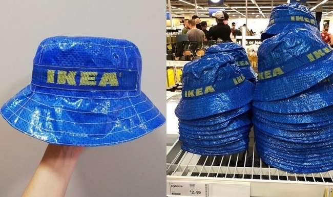 限量「IKEA購物袋漁夫帽」 網拍價格翻10倍! | 華視新聞