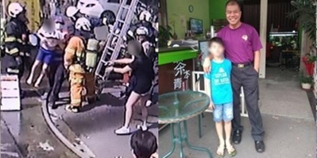 巧!消防員火場救出男童 竟是8年前親手接生 | 華視新聞