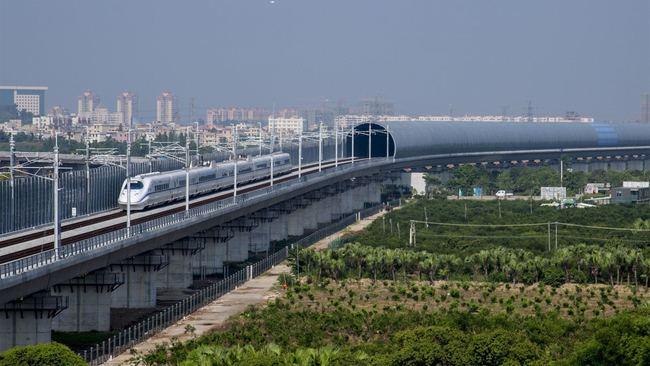 中國高鐵砸9億護生態 打造全球首例隔音隧道 | 華視新聞